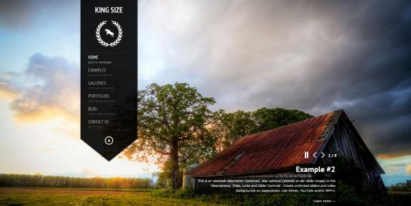 kingsize wordpress theme