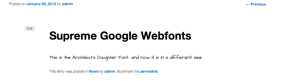 supreme google fonts